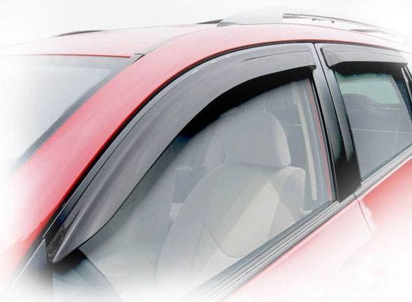 Дефлекторы окон (ветровики) Ауди А6 (Audi A6) 2004-2011 г (седан)
