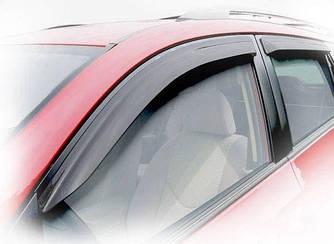 Дефлекторы окон (ветровики) Форд Фокус (Ford  Focus) с 2011 г (седан/хэтчбек)