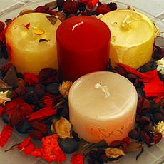 Материалы для изготовления свечей