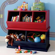 Ящики і комоди для іграшок