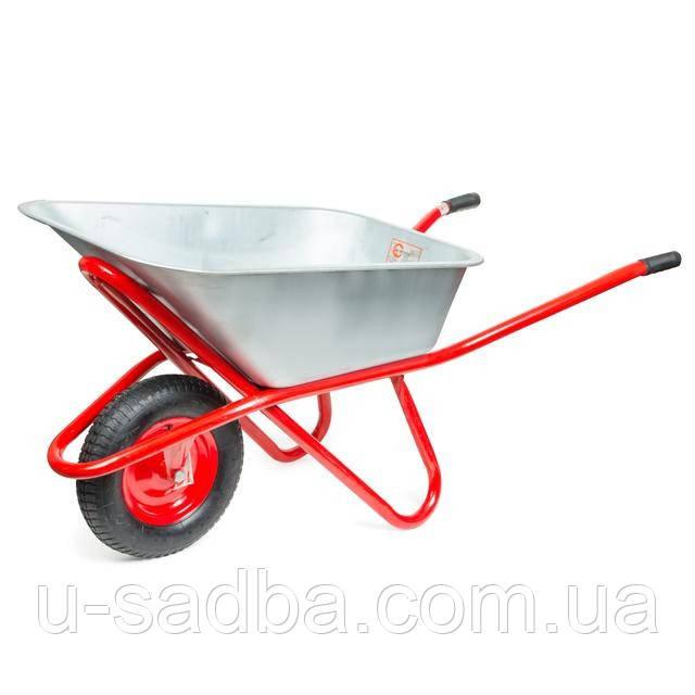 Тачка садово-строительная одноколесная INTERTOOL WB-0815