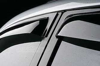 Дефлекторы окон (ветровики) Мерседес Смарт Фортур (Mercedes Smart Forfour) 2004-2006 г