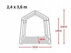 Павильон гаражный 2,4x3,6 м Полиэтилен (PE) 260 г/м², фото 2