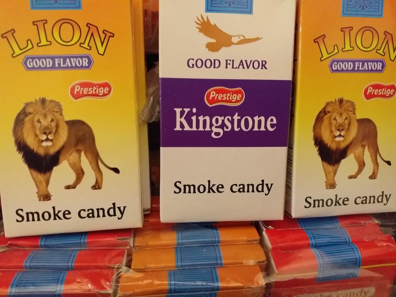 """Жевательная конфета""""Сигарета"""" пачка"""