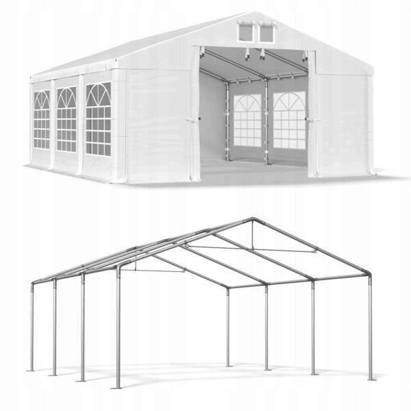 Павильон свадебный, торговый, гаражный 3x6 м ПВХ 560 г/м²