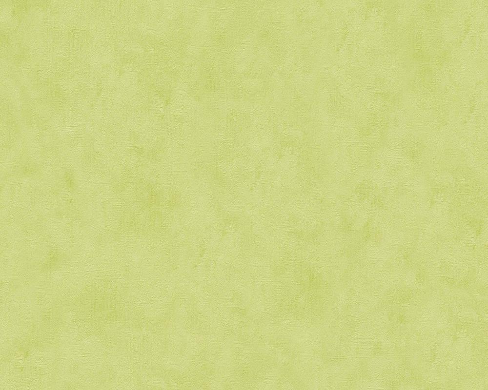 Обои бумажные зеленые под акварель 688866