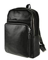 """Рюкзак кожаный для ноутбука 13"""" 14"""" мужской вместительный деловой"""