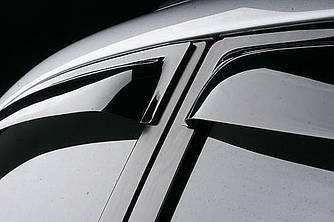 Дефлекторы окон (ветровики) Грейт Вол Ховер H3/H5 (Great Wall Hover Н3/Н5) 2007/2010 г.