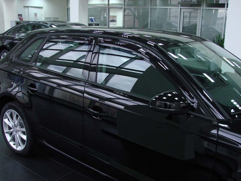 Дефлекторы окон (ветровики) Ауди А3/С3 (Audi A3/S3) 2004-2012 г