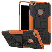 Чехол Armor Case для Xiaomi Mi Max 2 Оранжевый