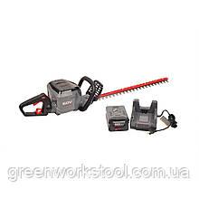 Аккумуляторный кусторез(триммер) POWERWORKS 60V HT60B211PW в комплекте