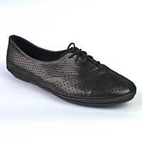 "Балетки летние кожаные черные женская обувь LaCoSe V Black Purple Leather by Rosso Avangard ""Graphite"", фото 1"