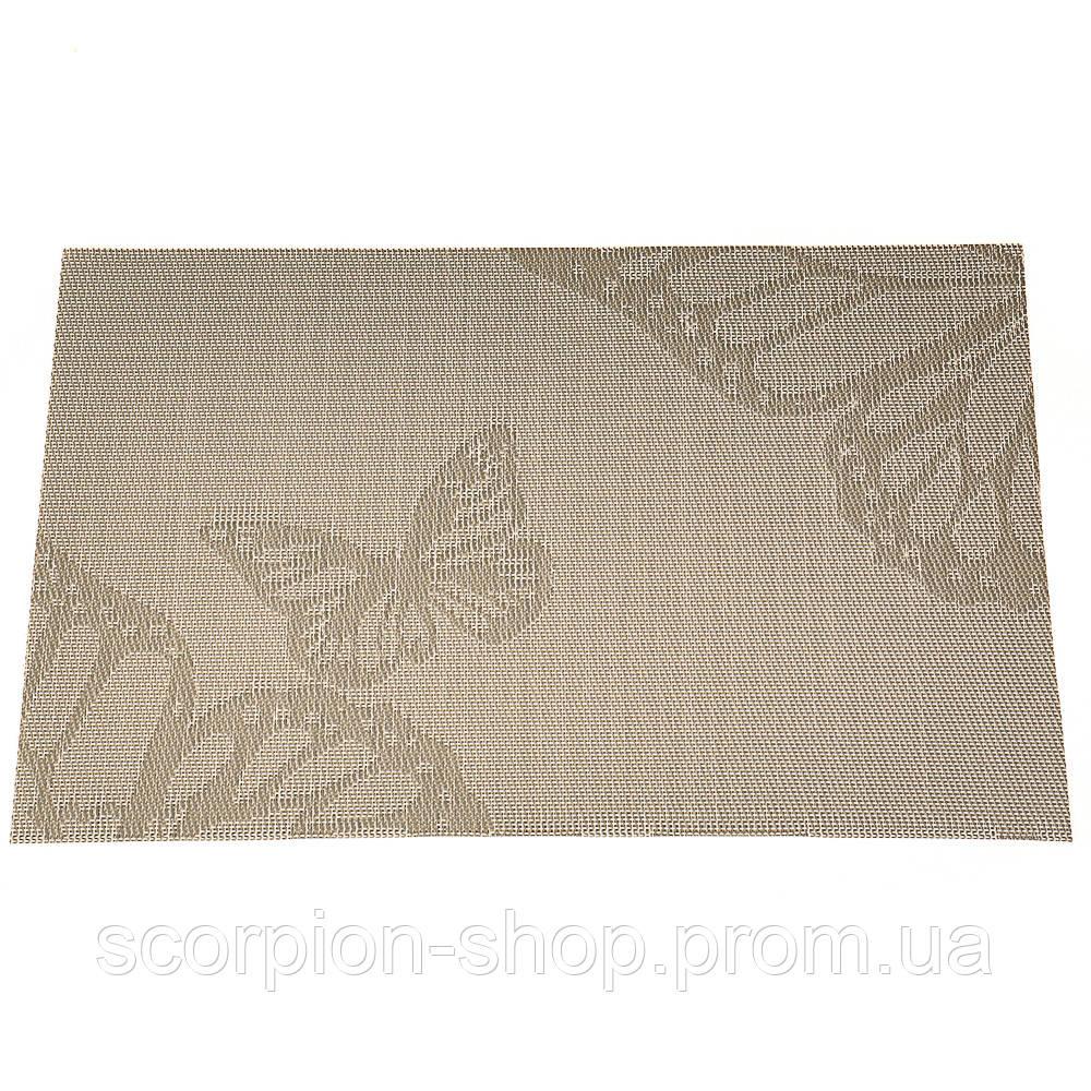 """Салфетки сервировочные """"Бабочки светлые"""" 12 шт в упаковке (0420JH)"""