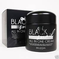 Крем с слизью Черной Иберийской Улитки MIZON Black Snail All in One Cream