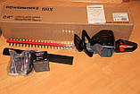 Аккумуляторный кусторез(триммер) POWERWORKS 60V HT60B211PW в комплекте, фото 7