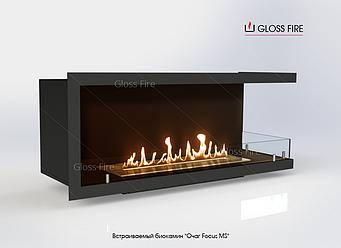 Встраиваемый биокамин GlossFire Очаг Focus MS Арт. 007