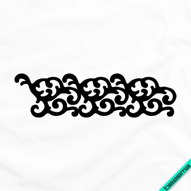 Термоаппликации на пуловери Візерунок [Свій розмір і матеріали в асортименті]