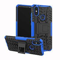 Чехол Armor Case для Xiaomi Mi A2 / Mi 6X Синий