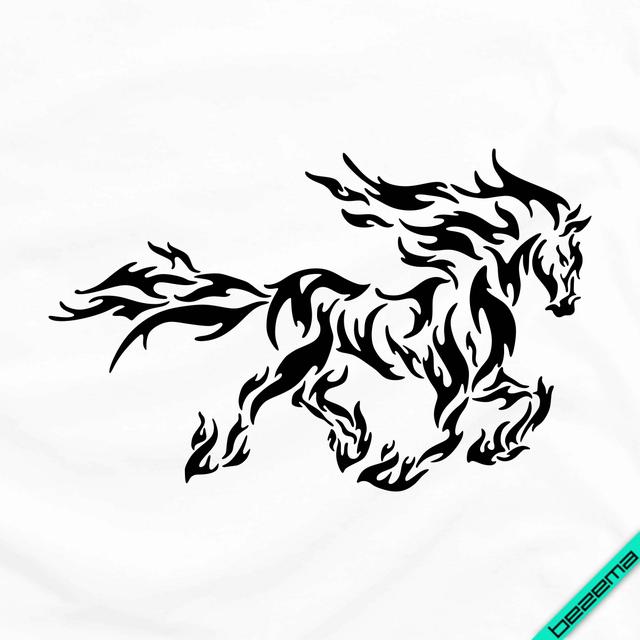 Дизайн на блузи Вогненного коня [Свій розмір і матеріали в асортименті]