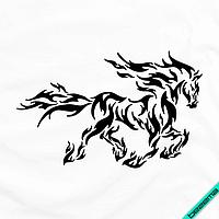 Дизайн на блузы Огненная лошадь [Свой размер и материалы в ассортименте], фото 1