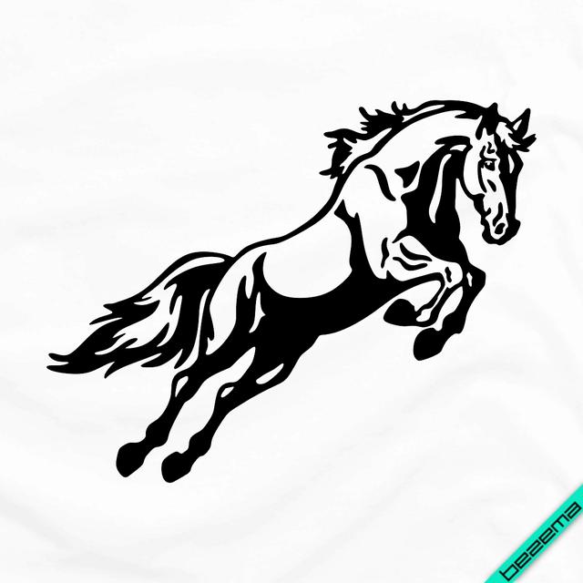 Аплпикации, латки на халаты Лошадь [Свой размер и материалы в ассортименте]