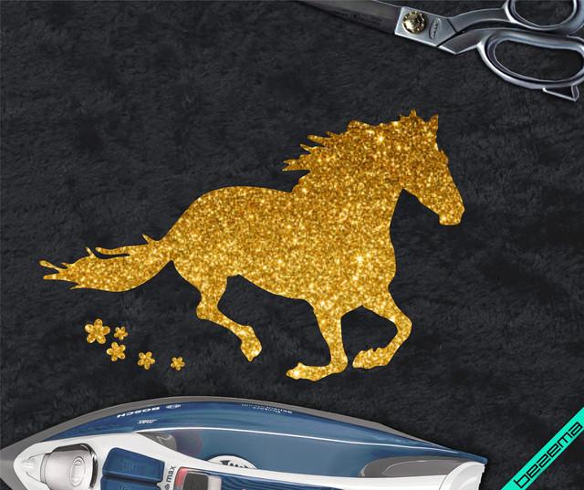 Термоаппликации на плащи Лошадь [Свой размер и материалы в ассортименте]