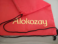 Мешок наплечный для обуви/одежды брендированный ТМ Алокозай