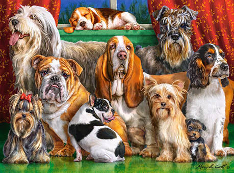 Пазлы Собаки на 3000 элементов, фото 2