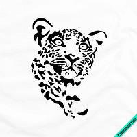 Термоаппликации на дорожні сумки Леопард [Свій розмір і матеріали в асортименті]