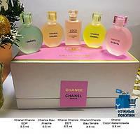 Набор духов Chanel 5в1