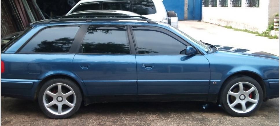 Дефлекторы окон (ветровики) Ауди 100 Авант/А6 Авант (Audi 100 Avant/A6 Avant) 1990/1994 г