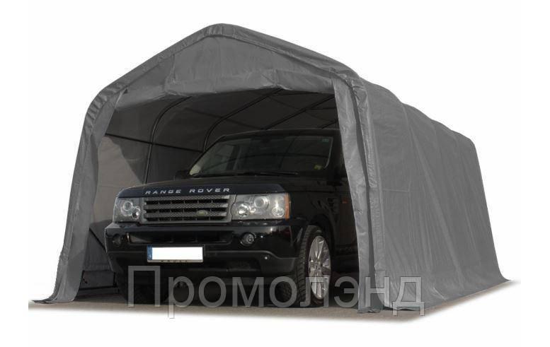 Павильон гаражный 3,3x4,8 м ПВХ 550 г/м² (Серый)