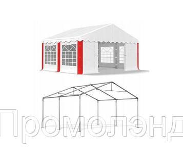 Павильон свадебный, торговый, гаражный 4x4 м PE 240 г/м²