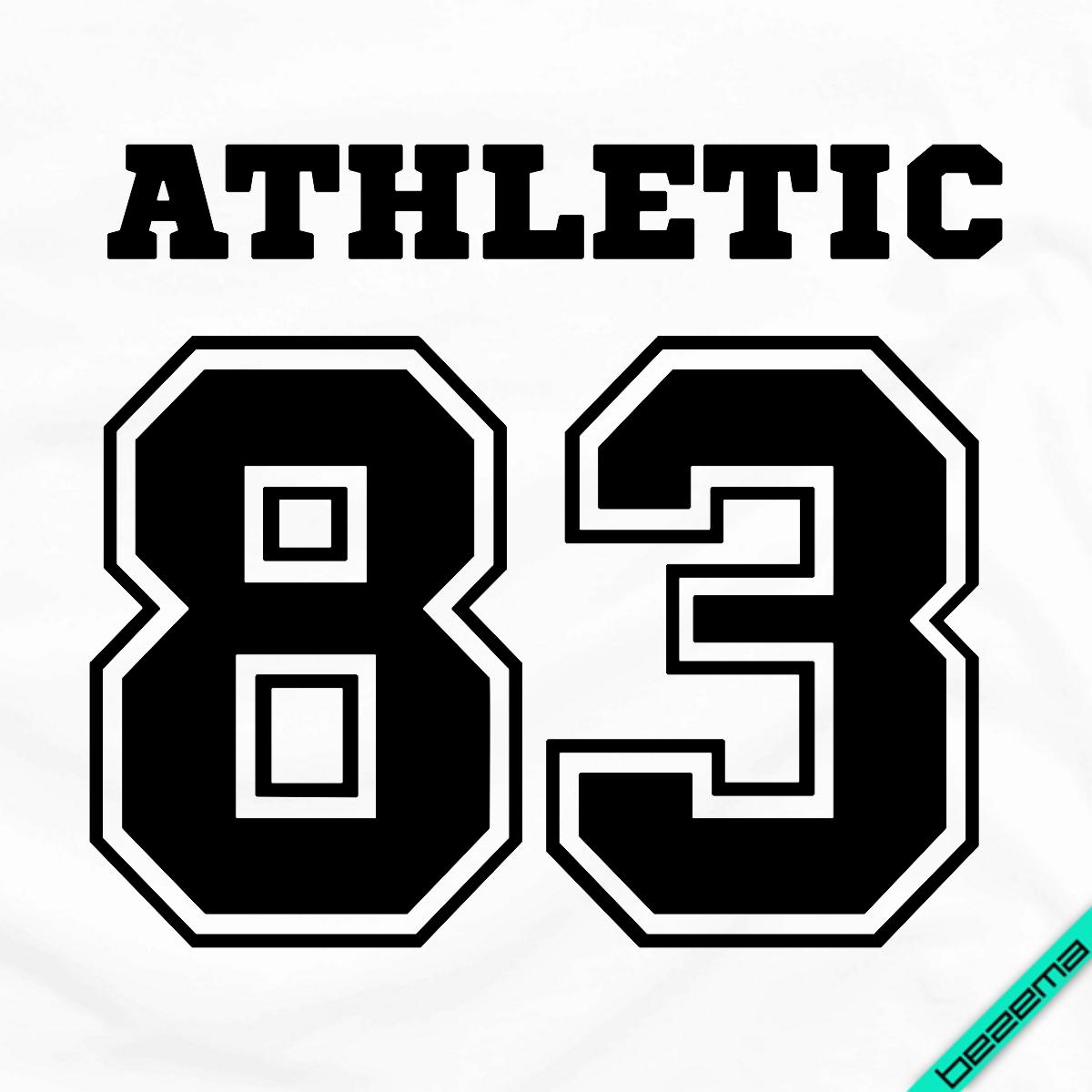 Термопереводки, латки на полусапожки Athletic 83 [Свой размер и материалы в ассортименте]