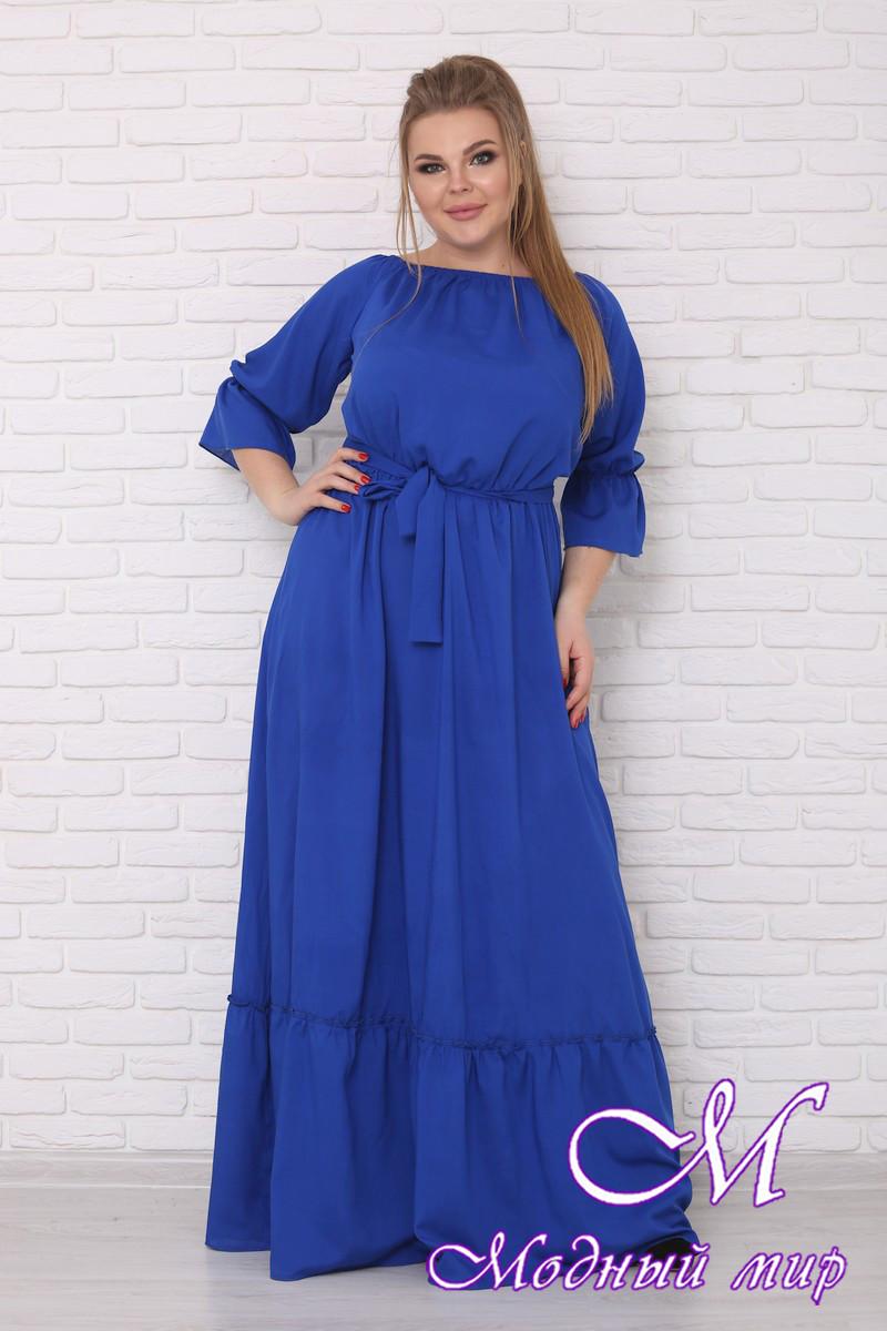 Нарядное летнее платье больших размеров (р. 42-90) арт. Душенька