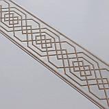 Текстильный бордюр YGH 165-2 (9 см), фото 2