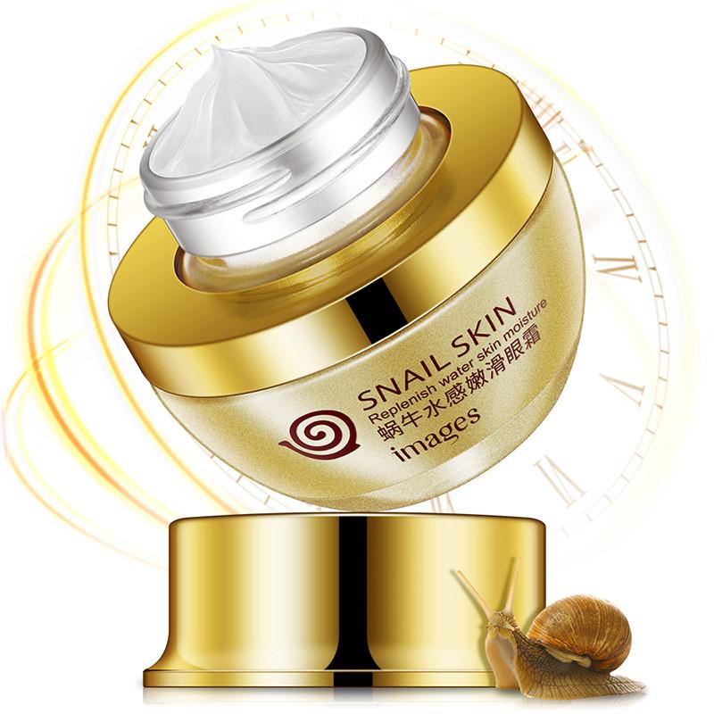 Крем для кожи вокруг глаз с фильтратом слизи улитки Images Snail Water Skin Eye Cream, 25г