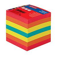 Бумага для заметок Herlitz цветная 90х90мм 700 листов 80г склеенная