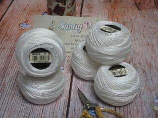 Мулине DMC Pearl Cotton Balls арт.116 (перле) - толщина №5