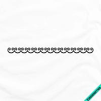 Термопереводки на кашемир Узор [Свой размер и материалы в ассортименте]