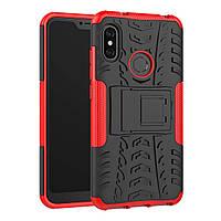 Чехол Armor Case для Xiaomi Redmi 6 Pro / Mi A2 Lite Красный