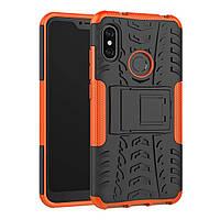 Чехол Armor Case для Xiaomi Redmi 6 Pro / Mi A2 Lite Оранжевый