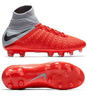 07527947 Детские профессиональные футбольные бутсы Nike Phantom III ELITE DF FG  AJ3791-600