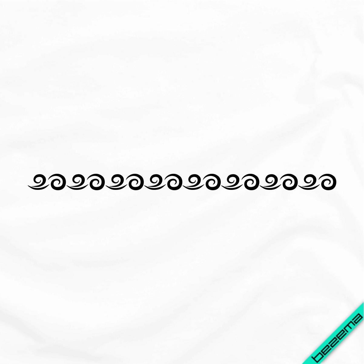 Термопереводки на кашемір Візерунок [Свій розмір і матеріали в асортименті]