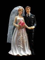 """Статуэтка на торт """"Жених и невеста"""" st 3"""
