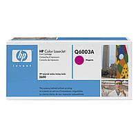Картридж HP CLJ  124A Magenta, CLJ 1600/2600 (Q6003A)