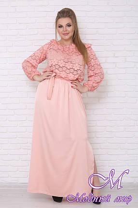 Женское вечернее платье большого размера (р. 42-90) арт. Эдем, фото 2