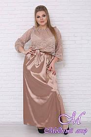 Женское вечернее платье для полных (р. 42-90) арт. Эдем