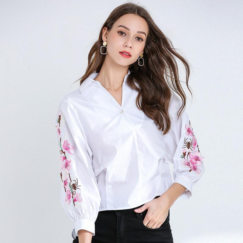 Женская рубашка Китай 44-46 (в расцветках)