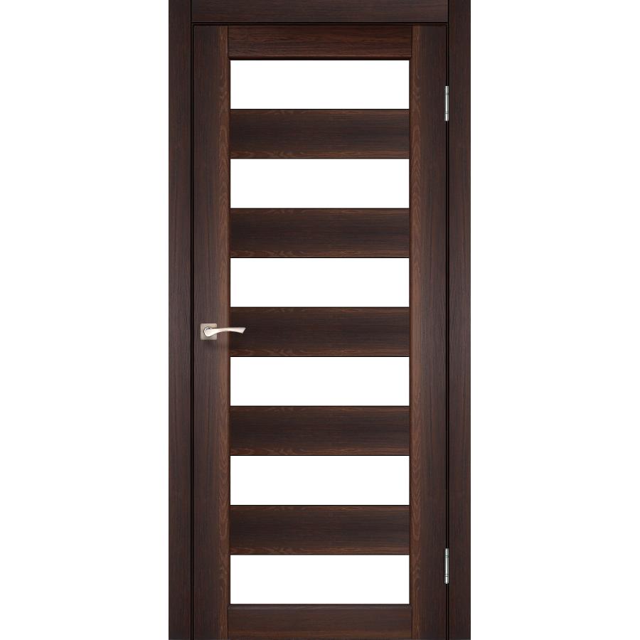 Двери KORFAD PR-04 Полотно+коробка+2 к-та наличников+добор 100мм, эко-шпон